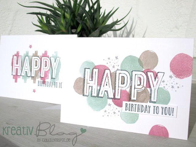 Kreativ Blog by Claudi: Happy Celebrations #3
