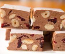 Choc Hazelnut & Sour Cherry Nougat