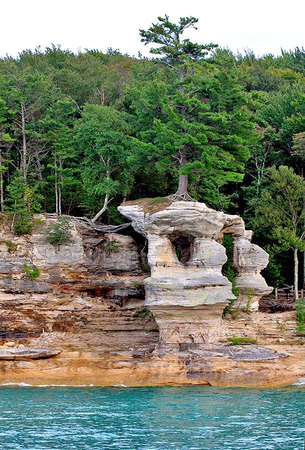 Rocks National Lakeshore Park Michigan | Pictured Rocks National Lakeshore, MI.