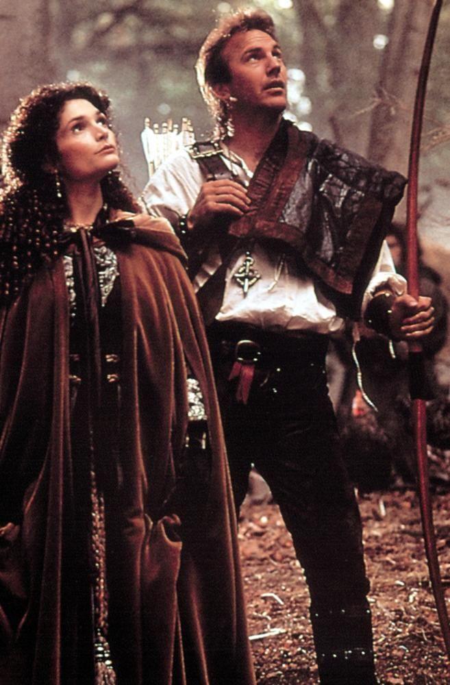 Robin Hood: Prince of Thieves (1991) - Mary Elizabeth Mastrantonio & Kevin Costner