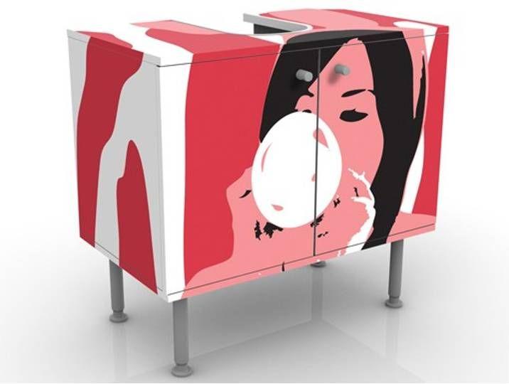 Waschbeckenunterschrank No Ta39 Bubblegum Playgirl Badschrank