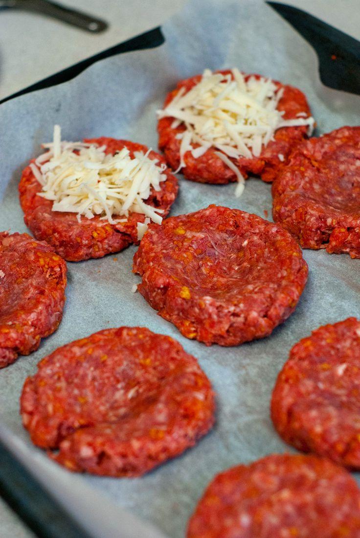 Pepper Jack Stuffed Doritos Burgers | heatherlikesfood.com