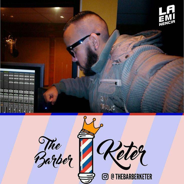 Via Instagram LAEMINENCIAreal Si ud. Quiere un corte Pro de la movida urbana de tipos es con @TheBarberKeter en Aragua. Cero cortes punk mis cortes son de alli... síguelos #Barba #Cerquillos #Cortes #barberia #barbershop  #LaEminencia  @laqadramusic #studioflow #estudiodegrabacion . . . . . . .  #productormusical  #protools #flstudio #dembow #reggaeton #musicaurbana  #beats #producer . . . . . . . .#siguemeytesigo #beardbrothers #tw