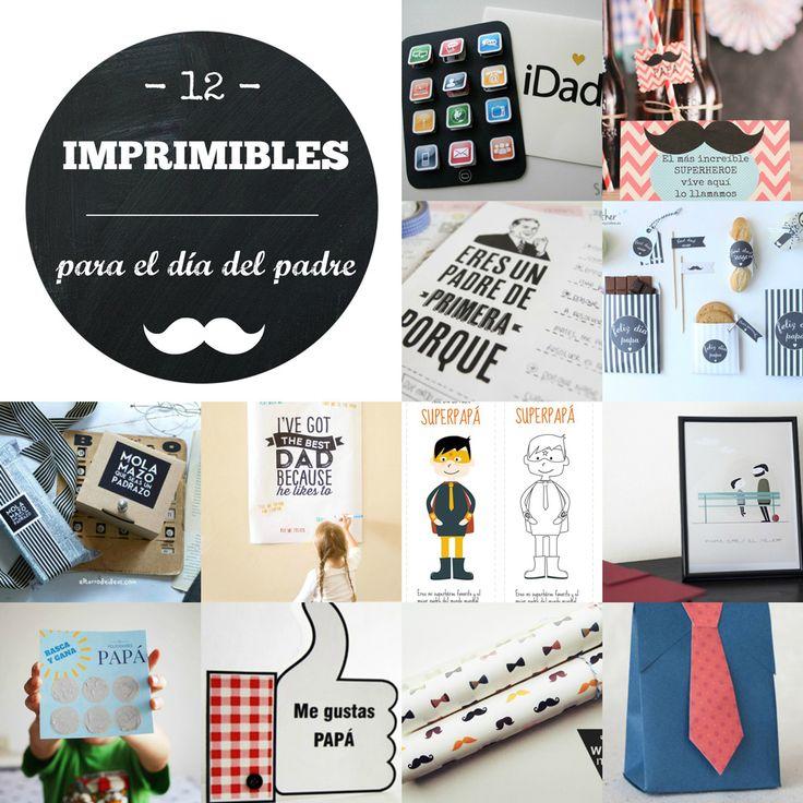 ideas para regalos imprimibles dia del padre
