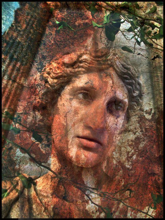 Athena Resurrected in Stone