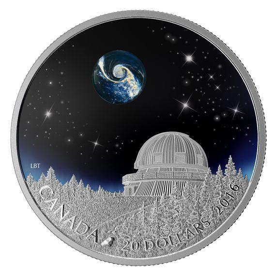 1 oz. Fine Silver Coin – The Universe – Mintage: 8,500 (2016)