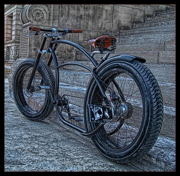 Custom bicycles. If I could find something like this where I live, I'd go back to riding a bike in a heartbeat.