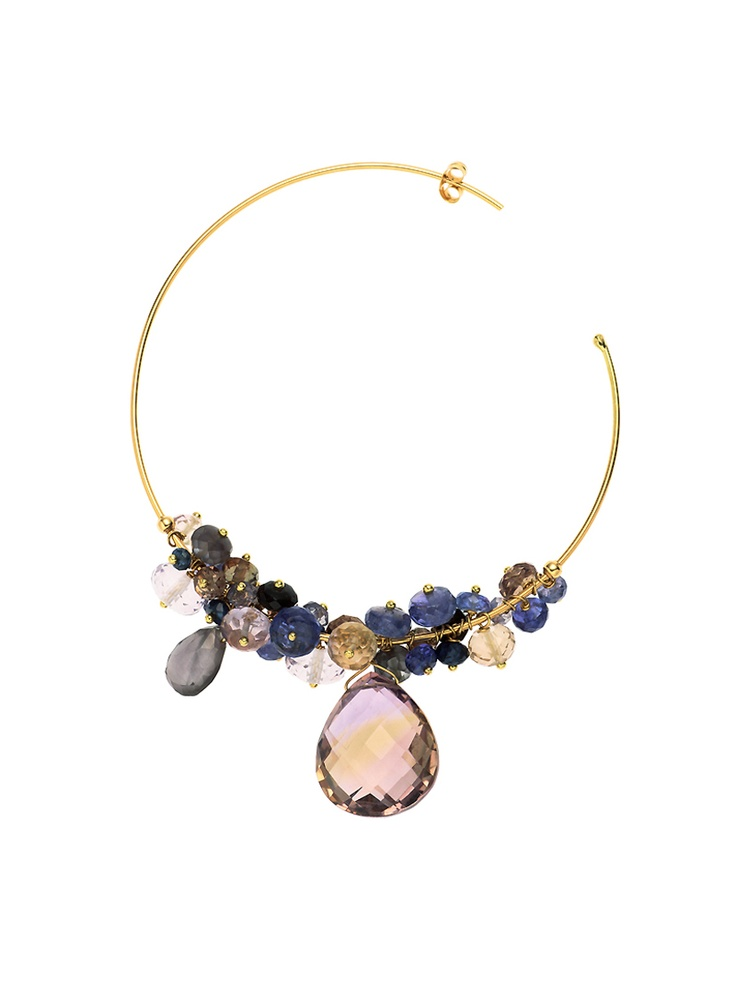 sweet pea necklace