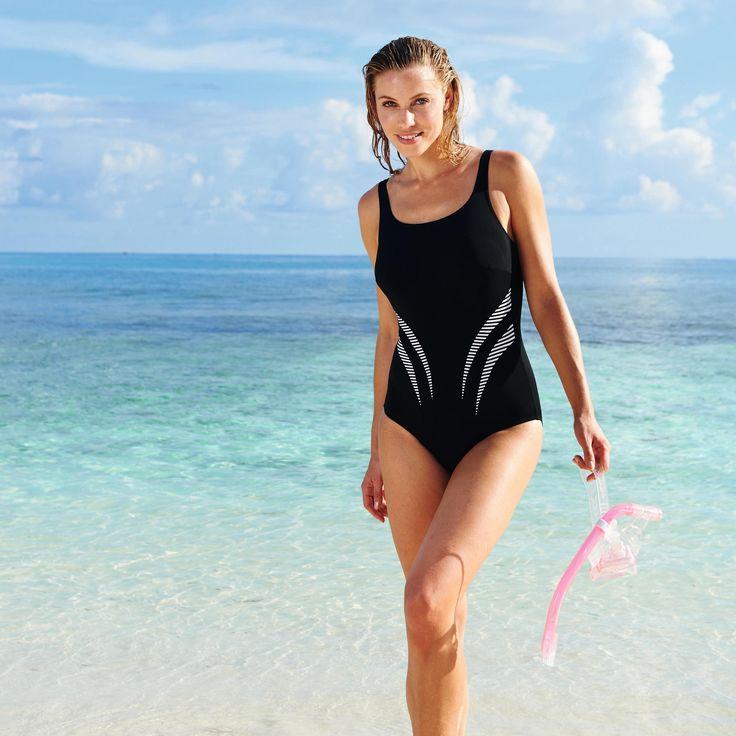 NEW! Anita Austin Mastectomy Swimsuit: 18, 20, 22