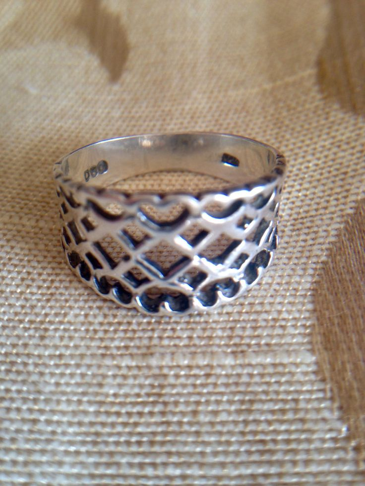 A personal favorite from my Etsy shop https://www.etsy.com/ca/listing/494807149/hearts-and-diamonds-silver-filigree-ring