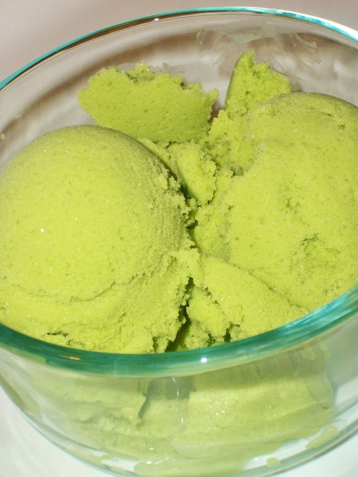 Spinach Ice Cream - Don't worry, it doesn't taste like spinach at all!  We cut the dry milk in half, add 1 tsp. mint extract in place of vanilla, and add about 1/2 cup of crushed Oreos or chocolate chips.