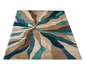 Tappeto Splinter Teal - 120x170 cm