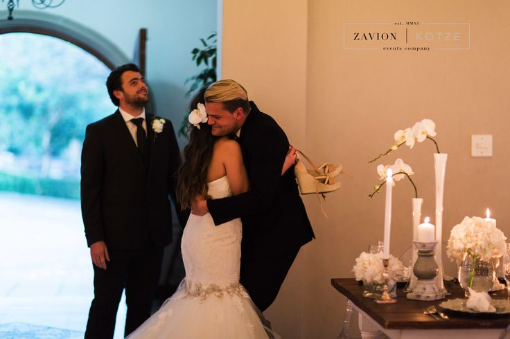 The moment we love! A happy bride!