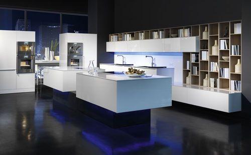 Design lacquer kitchen logic rational einbaukuechen