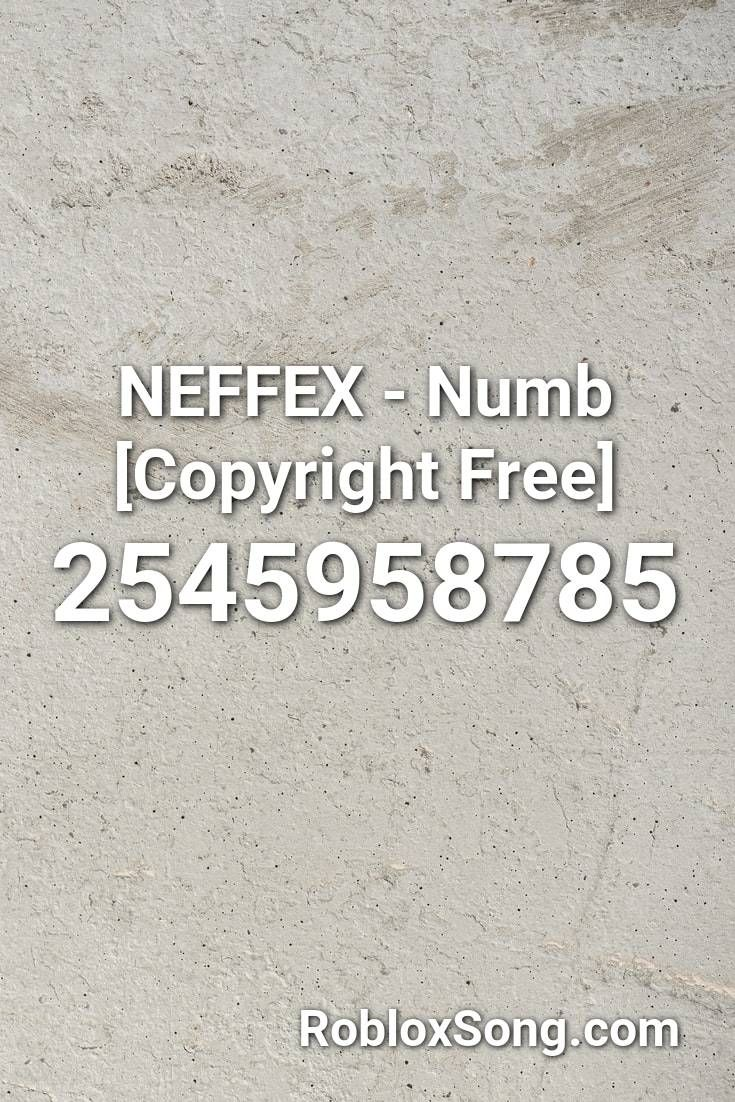 Neffex Numb Copyright Free Roblox Id Roblox Music Codes In 2021 Roblox Numb Songs