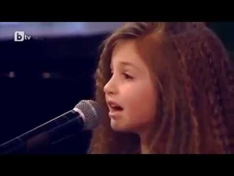 ALL judges shocked! The Most Talanted Girl in the World! Amazing song! - YouTube