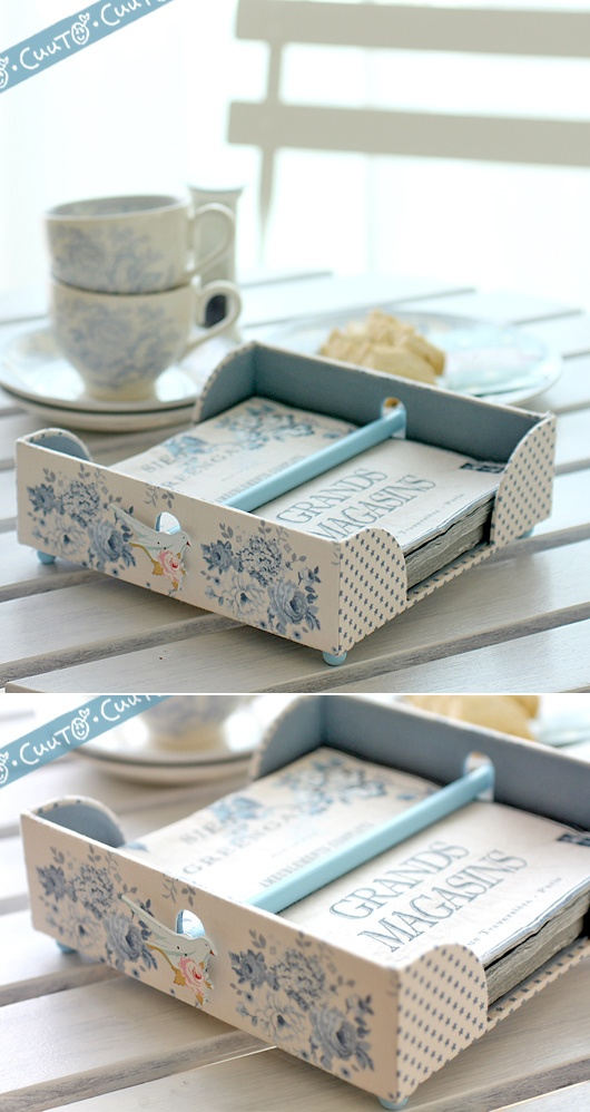 Nice idea - Paper Napkin Holder!