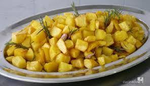 Le patate al forno