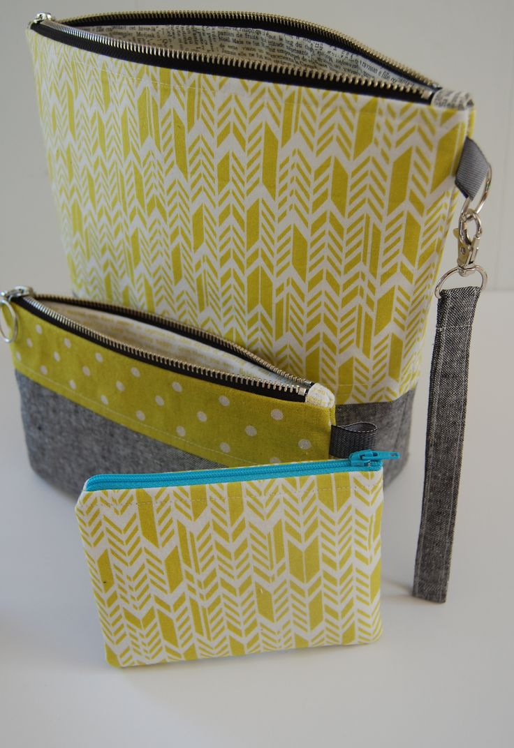I like the coordinating fabrics for small and large.