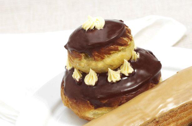 Choux pastry religieuse