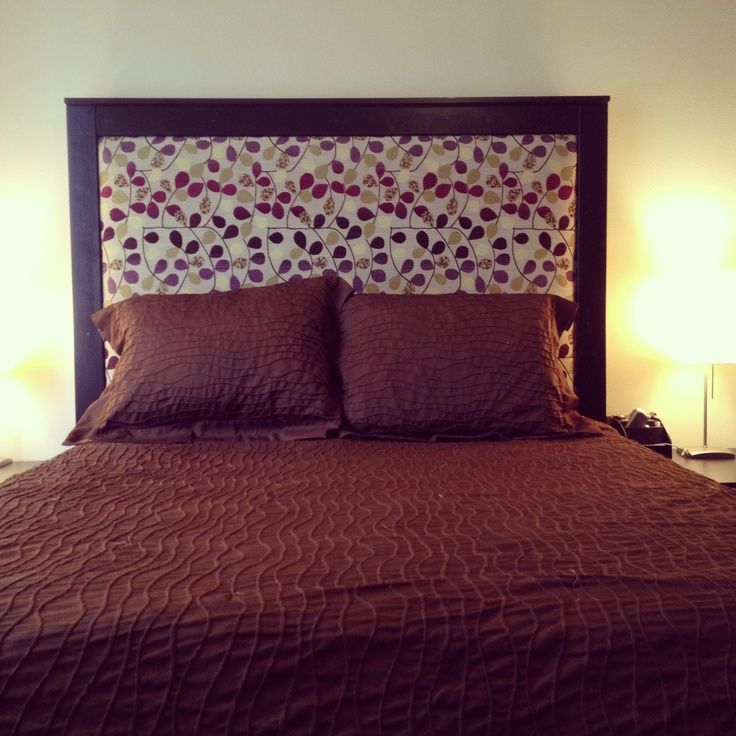 Best 25+ Diy fabric headboard ideas on Pinterest | Fabric ...