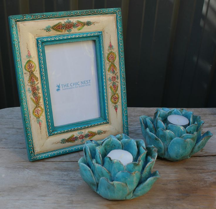Turquoise Homewares Available from: http://thechicnest.com.au/14-blue-turquoise-homewares