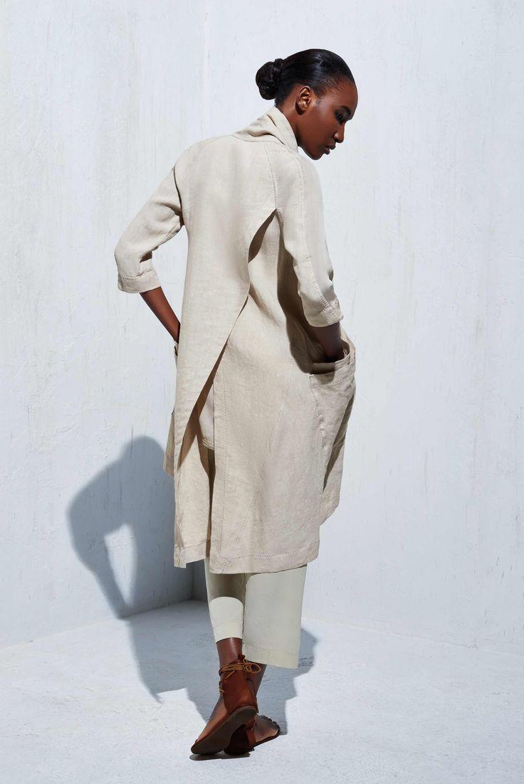 Cross Back Kimono Coat - Urban Zen