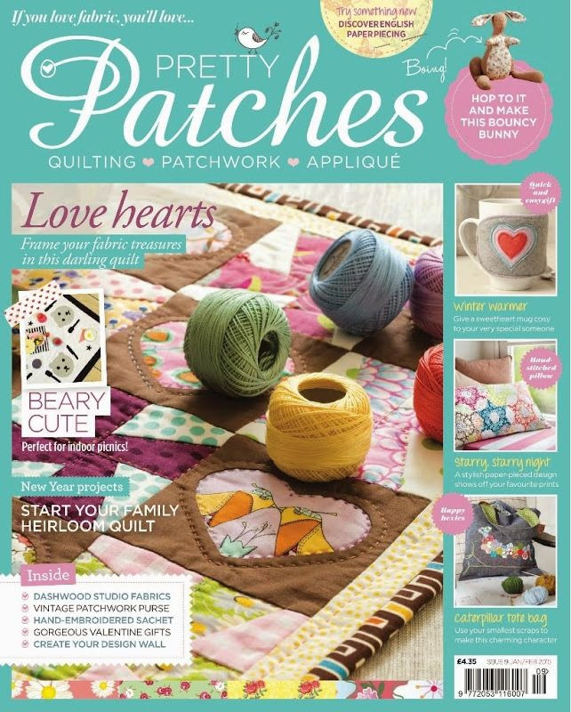 Knitting Quilt Magazine : Best quilting magazines images on pinterest patches