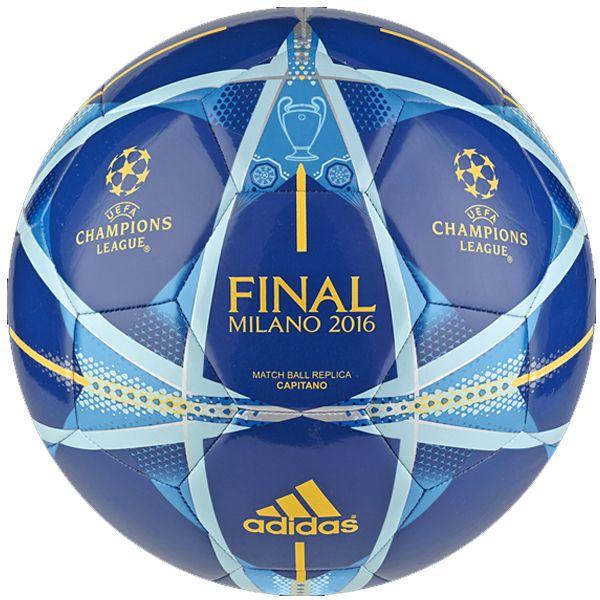 adidas Final Milano Captiano Ball Eqt Blue/Solar Gold