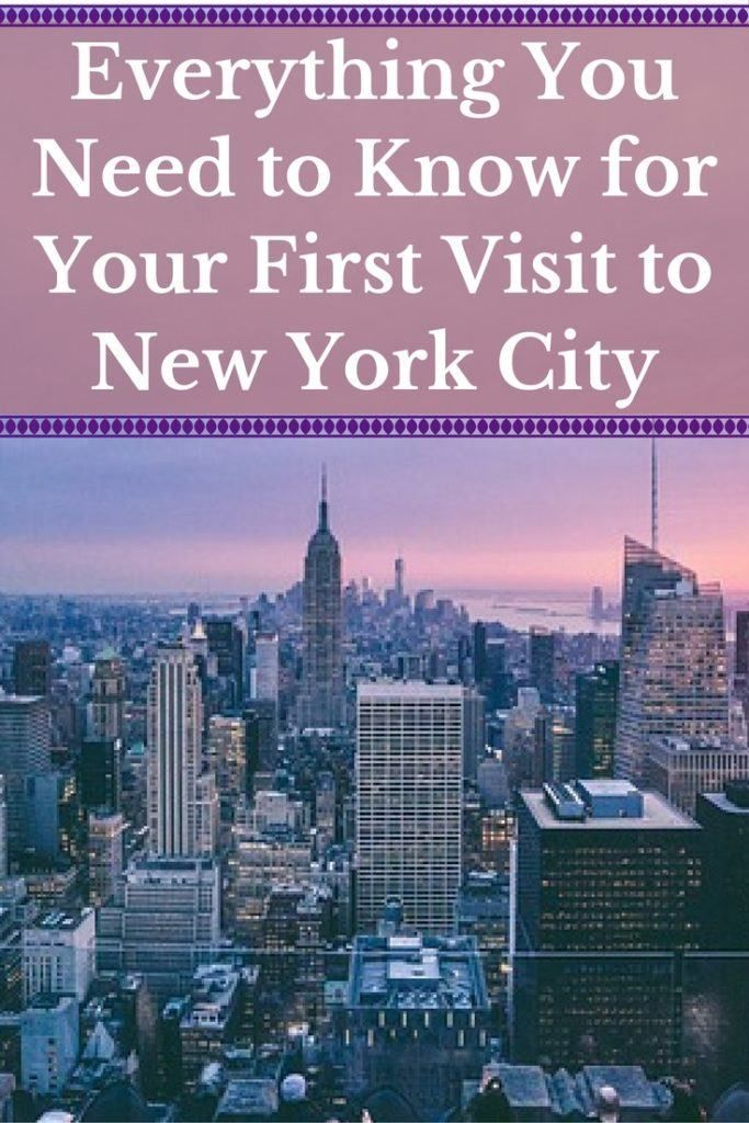 Written by a local New Yorker, this is a complete NYC guide! Everything You Need to Know for your first visit to New York City.