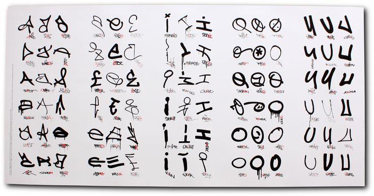 Graffiti Tag Letters | DiyMid.com