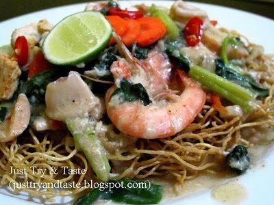 Just Try & Taste: Mie Siram Makassar/Mie Titi