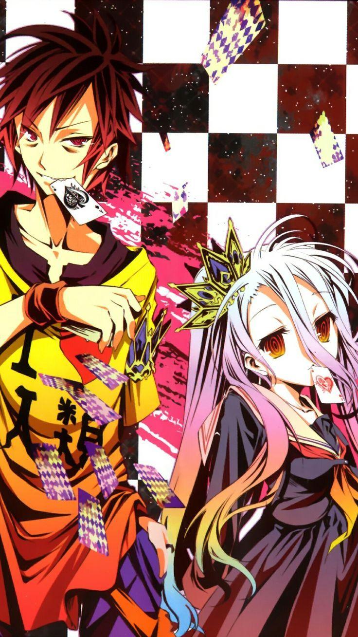 Sora And Shiro Shiro Sora Wallpapers 4k Free Iphone Mobile Games No Game No Life Nogame No Life Anime