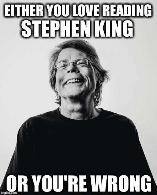 Stephen King- well I have to admit, I do not read Stephen King but I love this guy for all the wonderful things he does.  And for the great Humanitarian he is.  I'm just not a fiction reader. He is the most awesome Mainer!