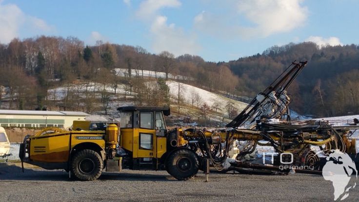 Versteigerung #Baumaschinen Atlas Copco #Boomer #Minig Machine http://www.ito-germany.de/baumaschinen/angebote/mining-tunnelbaumaschinen/bohrwagen-atlas-copco-rocket-boomer-l2c-zu-verkaufen/ #versteigerung #Tamrock