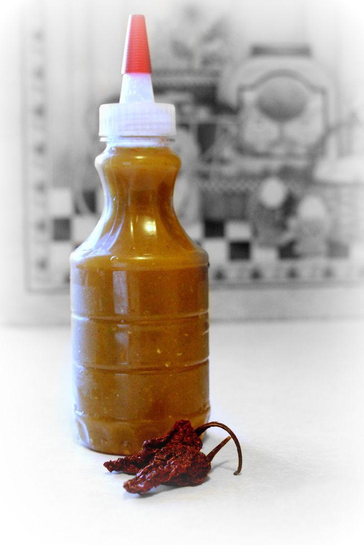 Ghost Pepper & Garlic Hot Sauce