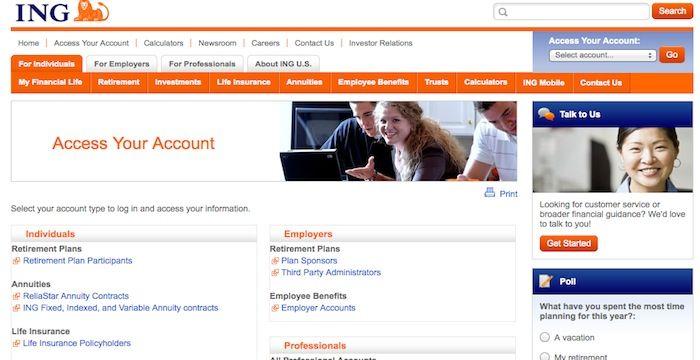 ING Direct Login Online Banking Online