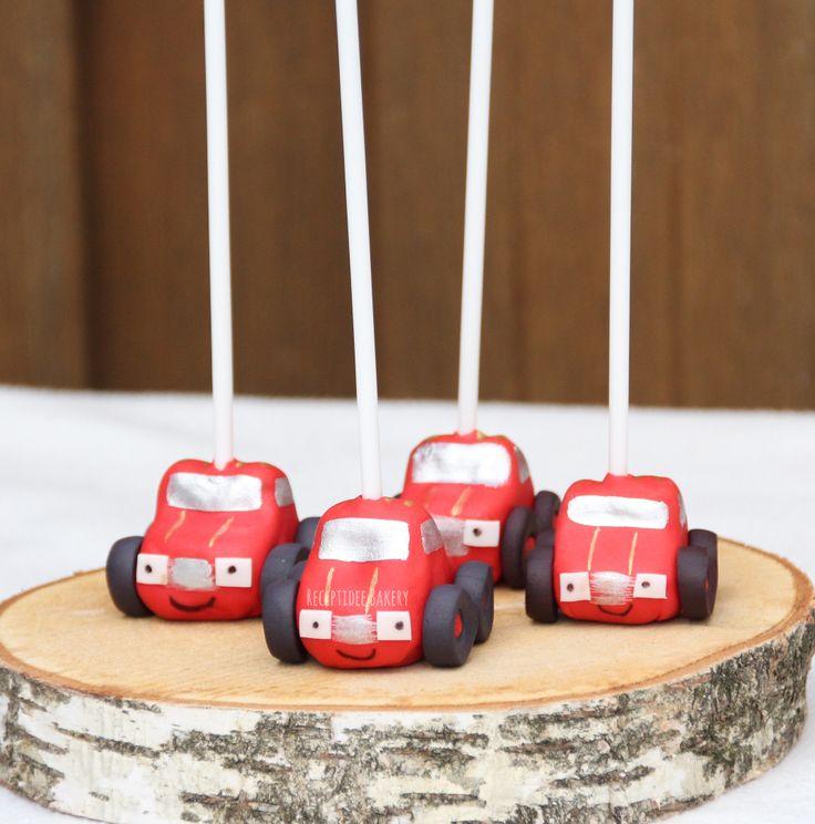 #auto #cakepops #fondant #vanillecake #cars #traktatie #verjaardag #kinderverjaardag #kindertraktatie