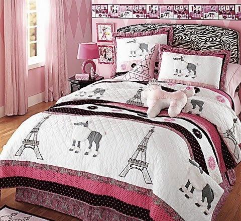 Poodle In Paris Queen Bedskirt Ashley S Bedroom Ideas