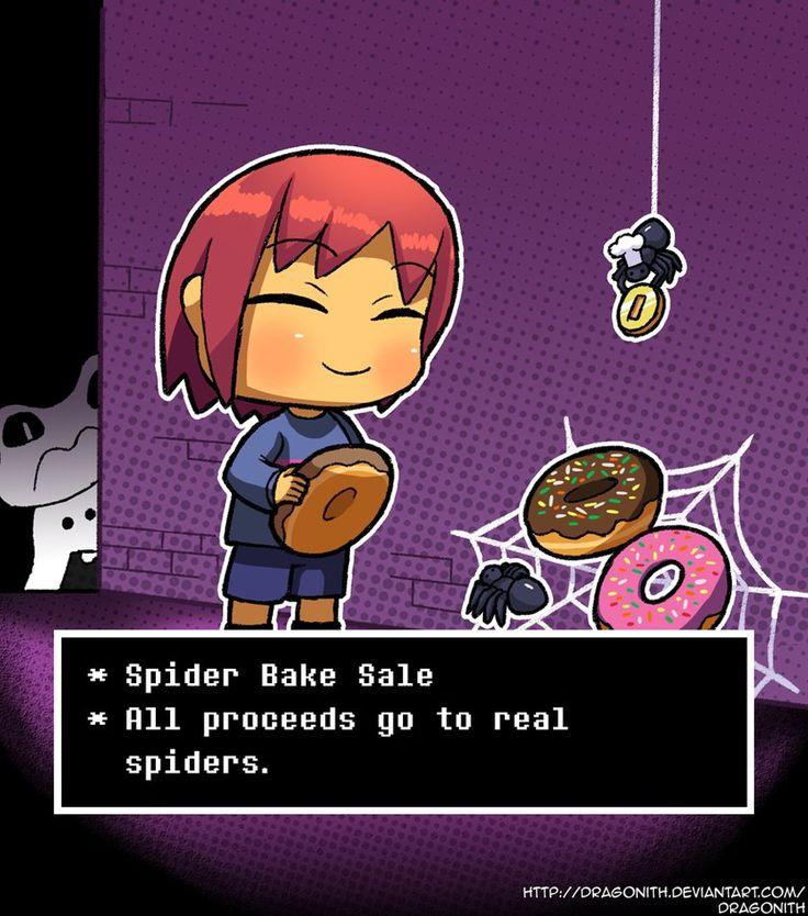 Random - Spider Bake Sale (Undertale) by Dragonith on DeviantArt