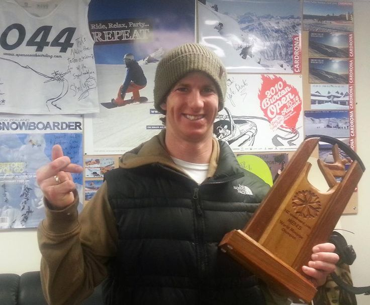 Our very own team rider - Mitch Brown took out the NZsnowboard.com mini pipe world champs this weekend! Yeew!