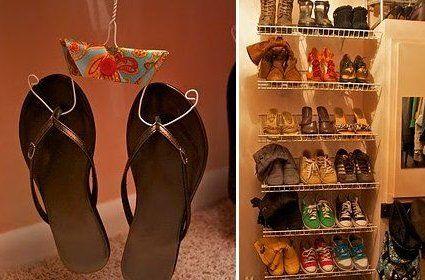Perchas para calzado
