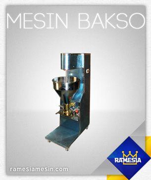 mesin pembuat bakso Type R280, untuk info lengkap bisa kunjungi website kami www.ramesiamesin.com atau www.ramesia.com