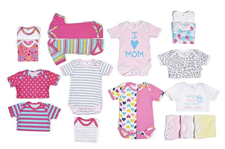 It's a onesie wonderland #onesies #precioux #baby #girl #pink