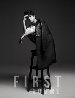 """Birth Name: Ha Min Woo Stage Name: Minwoo Birthday: September 6, 1990 Position: Vocalist, Lead Dancer, Rapper Height: 178 cm Weight: 54 kg Blood Type: B Hobbies/Specialties: Shopping, cooking, dancing, hiding bread in his pockets -He is in ZE:A sub unit """"ZE:A-FIVE"""" along with members Siwon, Kevin, Hyungsik, and Dongjun"""