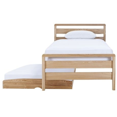 StoraBed King Single & Trundle Bed with Castors