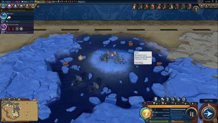 When you find the northern water tribe in Civilization VI #CivilizationBeyondEarth #gaming #Civilization #games #world #steam #SidMeier #RTS