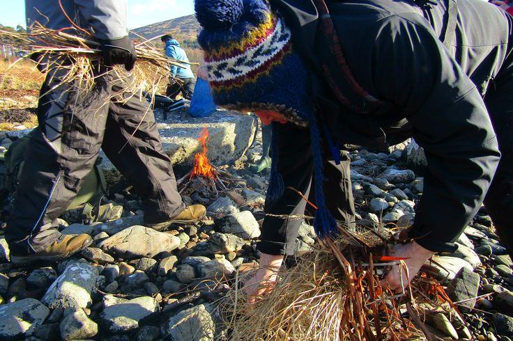 Survival skills @Wildwood Bushcraft Slow adventuring in Scotland