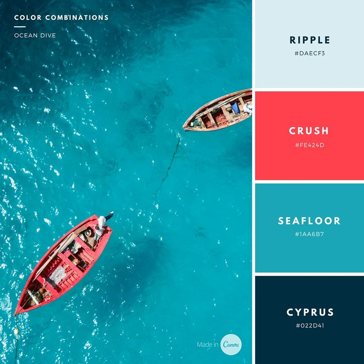 '100 Brilliant Color Combinations and How to Apply Them to Your Designs' @janiekliever @ @canva Graphic Design, Web Design, Interiors, via @sunjayjk