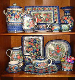 Polish Pottery | Boleslawiec Poland Pottery | Discount Polish Pottery -